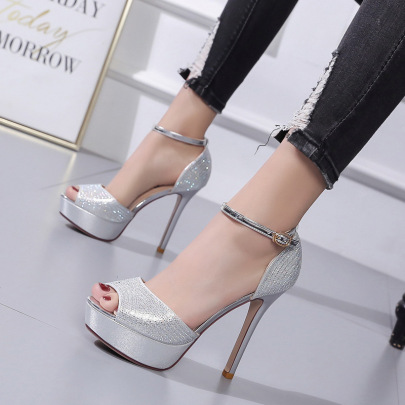 New Ankle Tie Stiletto Sandals NSSO59515