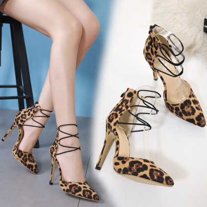 Pointed Toe Shallow Hollow Shoes NSSO59582