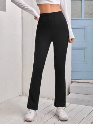 New Casual Fashion Pure Color  Trousers NSCAI59701