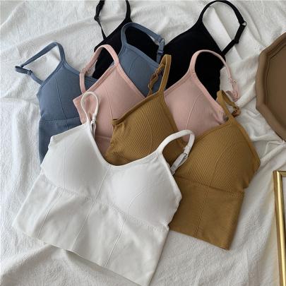No Rims Backless Beautiful Back Big U-shaped Underwear NSYID59787