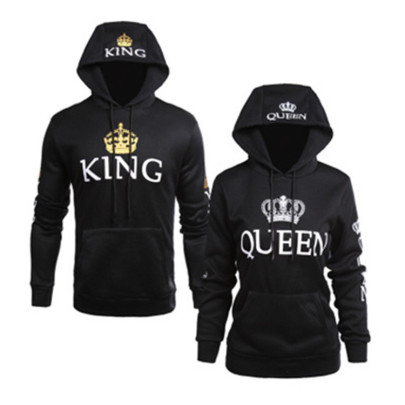 Autumn And Winter Print Hooded Long-sleeved Sweater NSHEQ55255
