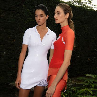 Summer POLO Collar Irregular Short Skirt NSFLY62015