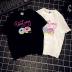 fashion donuts print tee NSYID62440