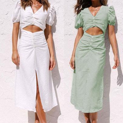 New Fashion Waist Casual Dress NSJC62490