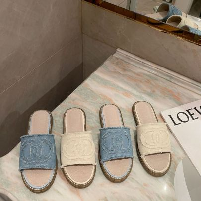 Summer New Style Canvas Slippers NSHU62589
