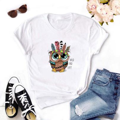 Cartoon High-definition Printing T-shirt NSYIC62594
