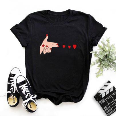 Creative Fashion Printing T-shirt NSYIC62597