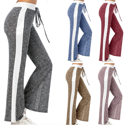New Hot Style Casual Fashion Loose Lace Yoga Pants NSHHF62720