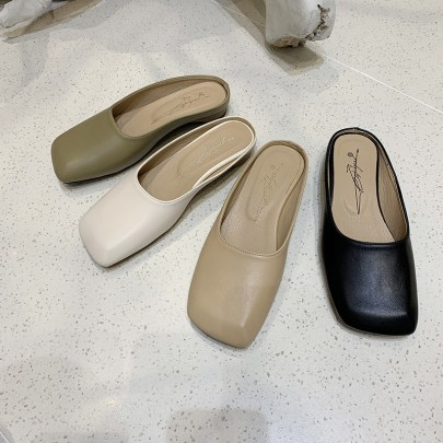 Summer New Fashion Comfortable Muller Shoes NSHU62820