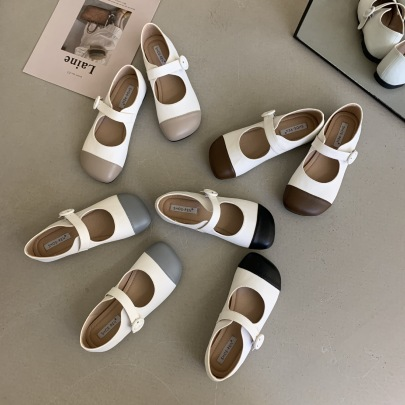 Flat Summer New Mary Jane Soft Sole Casual Ballet Shoes NSCA63048