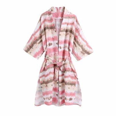 Wholesale Summer Tie-dye Outerwear Jacket NSAM63121