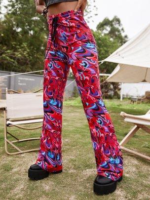 Printed New Autumn Fashion Trousers NSCAI63350