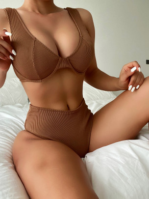 New Solid Color Sexy Bikini NSDA63221