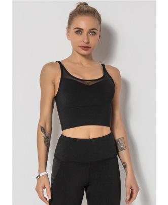 Mesh Stitching Fitness Vest NSLUT60661