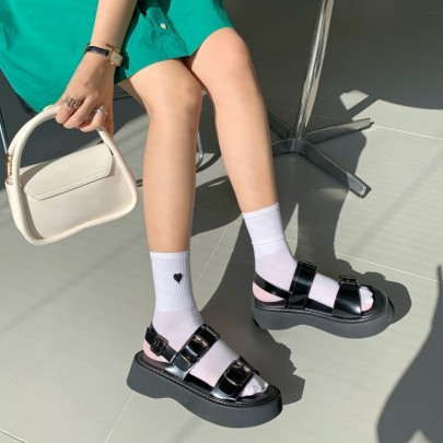 Thick-soled New Summer Fashionable Roman Shoes NSHU60390
