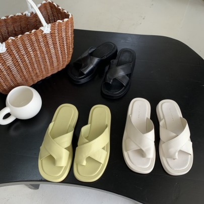 Summer New Style Fashion Thick-soled Casual Beach Shoes NSHU60405