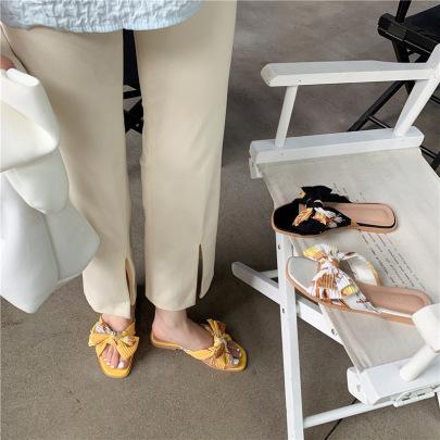 Flat-bottomed Comfortable Sandals NSHU61112