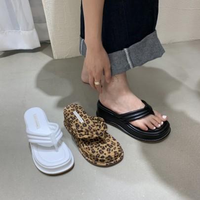 Fashion Solft Flat Thong Sandals NSHU61143