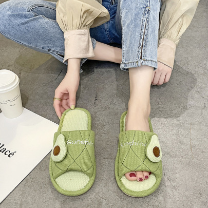 Silent Thick-soled Breathable Slippers  NSZSC61146