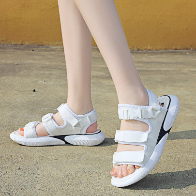 Fashion Ofthick-soled Velcro Sandals NSZSC61159