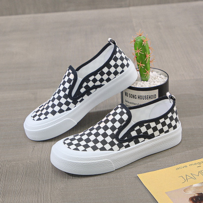 Breathable Board Canvas Shoes NSNL61165