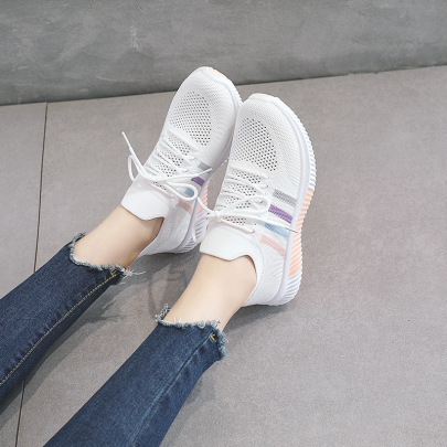 Woven Mesh Flat Bottom Shoes  NSNL61166