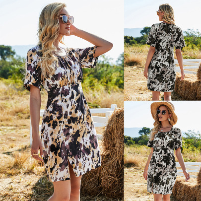 Summer Fashion Comfortable New Style One-piece Short Skirt  NSLM61220