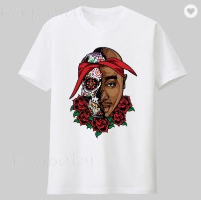Printing Short-sleeved T-shirt NSATE61307