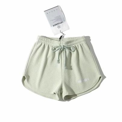 New Elastic Waist Drawstring Sports Shorts  NSHS61785