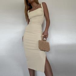 new hollow open back slim dress NSFLY61913